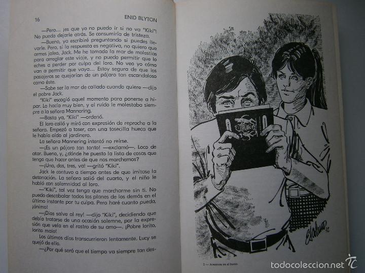 Tebeos: AVENTURA EN EL BARCO ENID BLYTON Molino 1972 - Foto 10 - 55381268