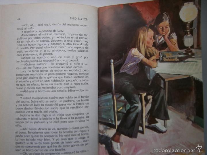 Tebeos: AVENTURA EN EL BARCO ENID BLYTON Molino 1972 - Foto 12 - 55381268