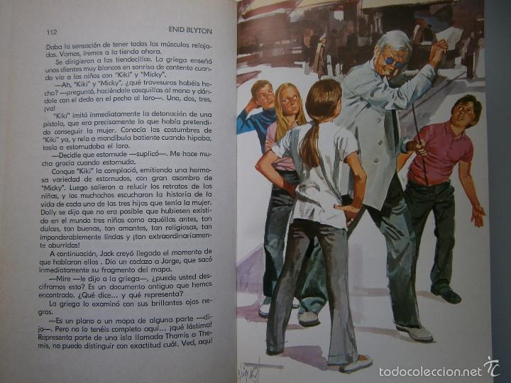 Tebeos: AVENTURA EN EL BARCO ENID BLYTON Molino 1972 - Foto 14 - 55381268
