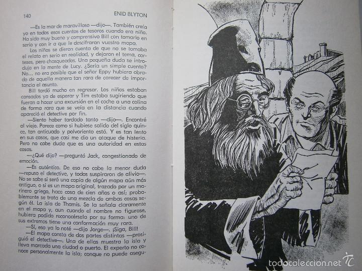 Tebeos: AVENTURA EN EL BARCO ENID BLYTON Molino 1972 - Foto 15 - 55381268
