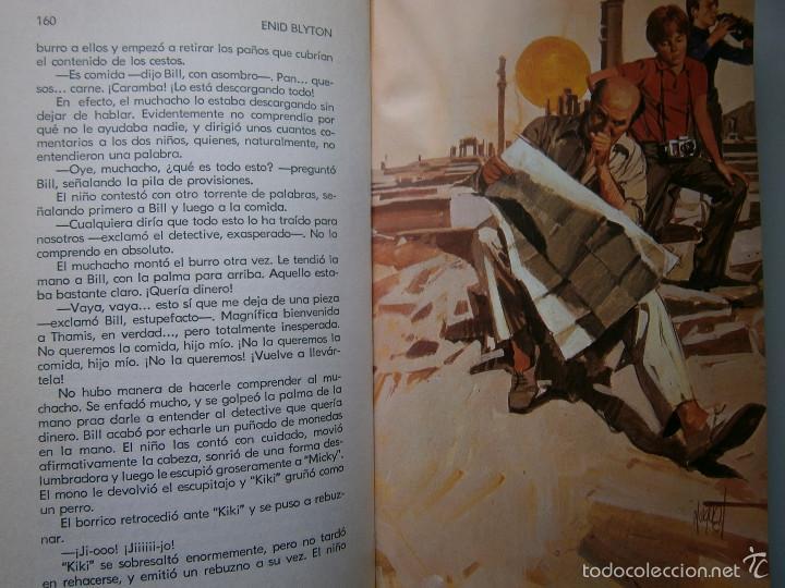 Tebeos: AVENTURA EN EL BARCO ENID BLYTON Molino 1972 - Foto 16 - 55381268