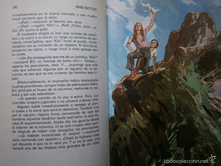 Tebeos: AVENTURA EN EL BARCO ENID BLYTON Molino 1972 - Foto 18 - 55381268