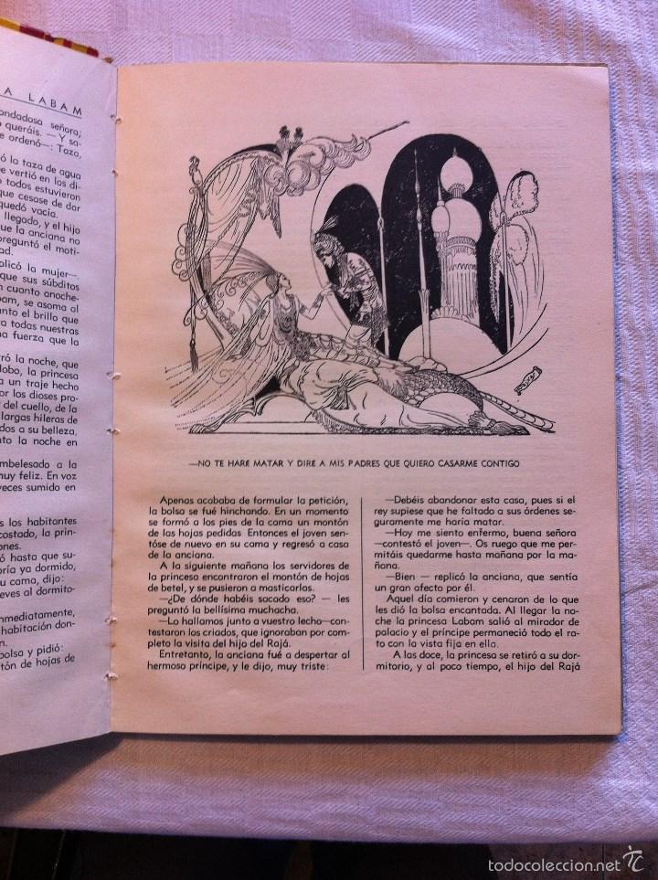 Tebeos: CUENTOS DE HADAS DE LA INDIA - ALFONSO NADAL EMILIO FREIXAS - EDITORIAL MOLINO 1954 - Foto 3 - 56212130