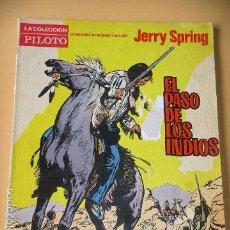 Tebeos: JERRY SPRING, EL PASO DE LOS INDIOS, JIJÉ, ED. MOLINO, AÑO 1965, MUY DÍFICIL. ERCOM. Lote 57243224
