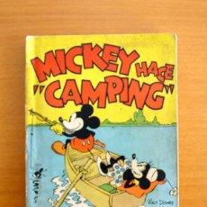 Tebeos: MICKEY HACE CAMPING - EDITORIAL MOLINO 1935 - WALT DISNEY - EXPLICACIONES EN EL INTERIOR. Lote 57380169