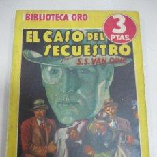 Tebeos: TEBEO EL CASO DEL SECUESTRO. Nº 120. BIBLIOTECA ORO. SERIE AMARILLA. Lote 58274001