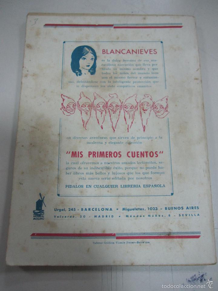 Tebeos: TEBEO EL CASO DEL SECUESTRO. Nº 120. BIBLIOTECA ORO. SERIE AMARILLA - Foto 2 - 58274001