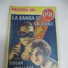 Tebeos: TEBEO LA BANDA DE LA RANA. BIBLIOTECA ORO. AÑO I. Nº III - 1.. Lote 58274569