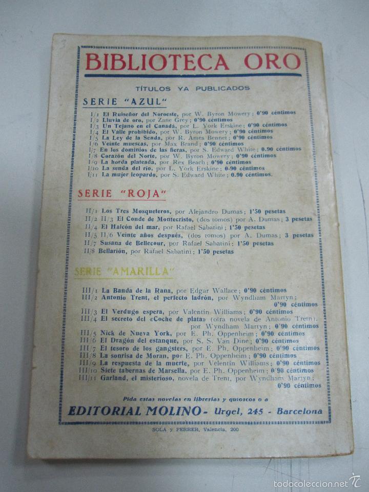 Tebeos: TEBEO LA BANDA DE LA RANA. BIBLIOTECA ORO. AÑO I. Nº III - 1. - Foto 2 - 58274569