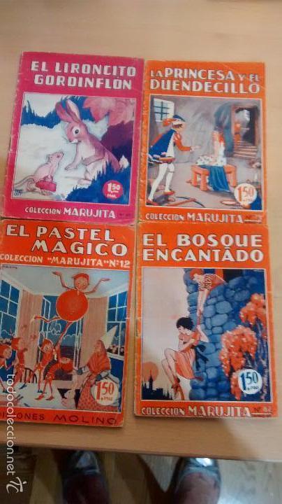LOTE 4 CUENTOS EDITORIAL MOLINO (Tebeos y Comics - Molino)
