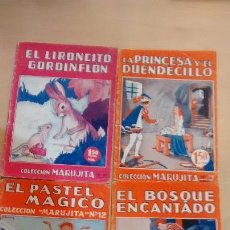 Tebeos: LOTE 4 CUENTOS EDITORIAL MOLINO. Lote 58538767