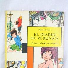 Livros de Banda Desenhada: CUENTO ILUSTRADO TAPA DURA - EL DIARIO DE VERÓNICA - Nº 5. PRIMER DÍA DE VACACIONES- ED MOLINO, 1967. Lote 61891908