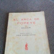 Tebeos: ANTIGUO CÓMICS EL ARCA DE POPEYE 1936. Lote 62058884