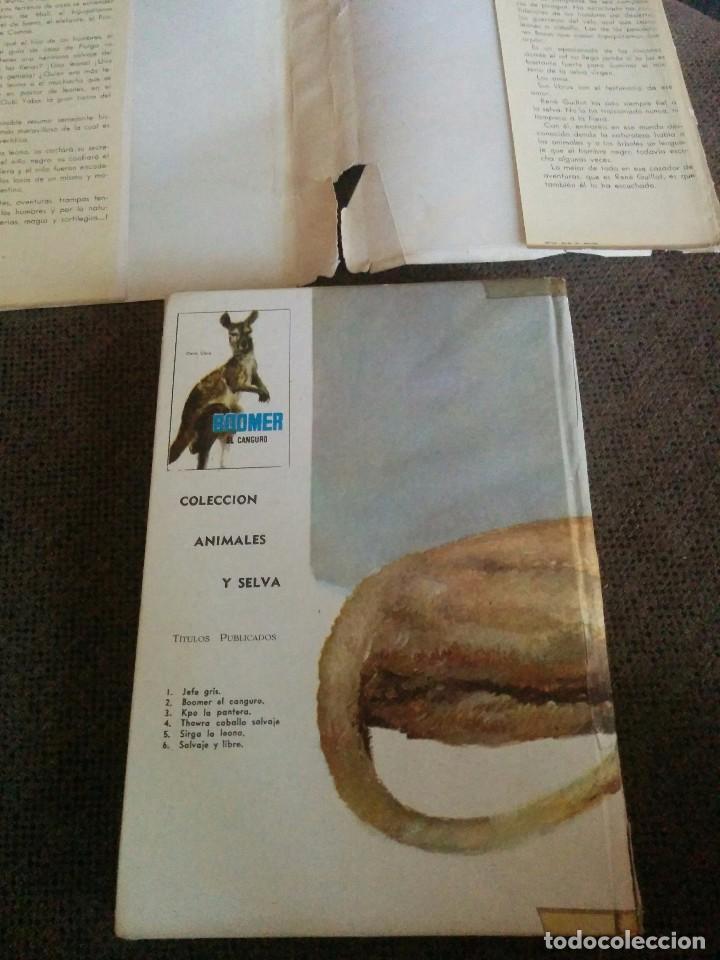 Tebeos: LIBRO ANTIGUO SIRGA LA LEONA 1961 - Foto 2 - 62063920