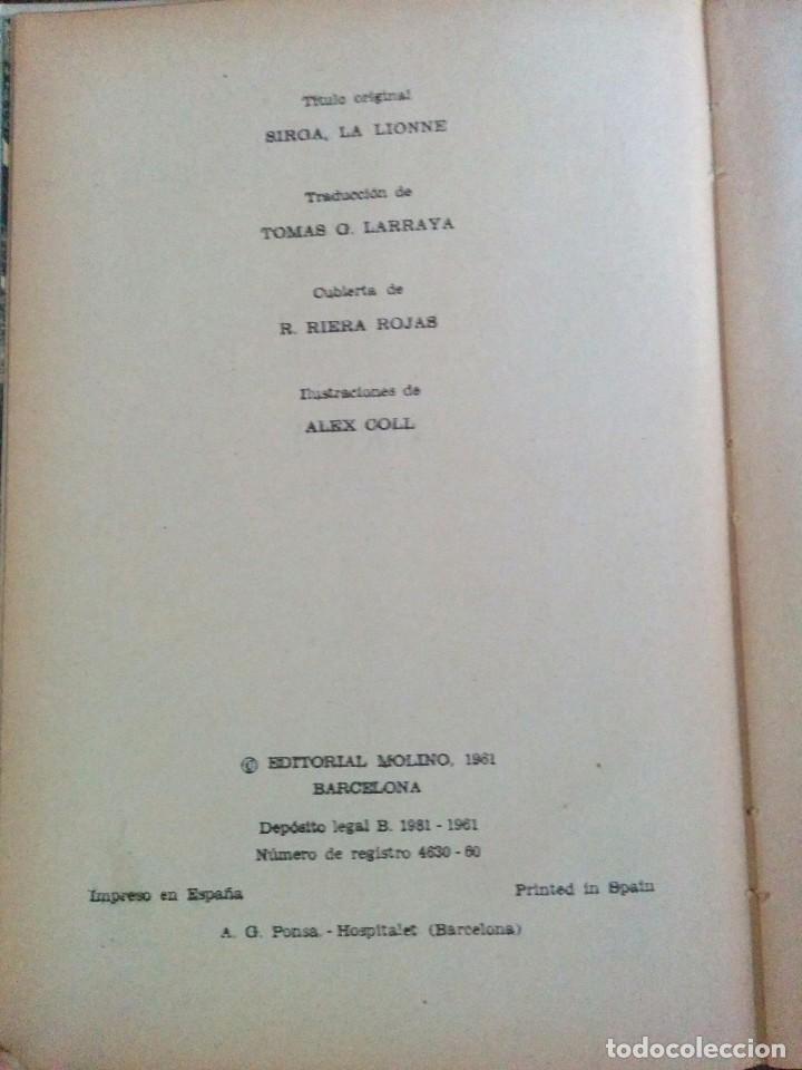 Tebeos: LIBRO ANTIGUO SIRGA LA LEONA 1961 - Foto 3 - 62063920