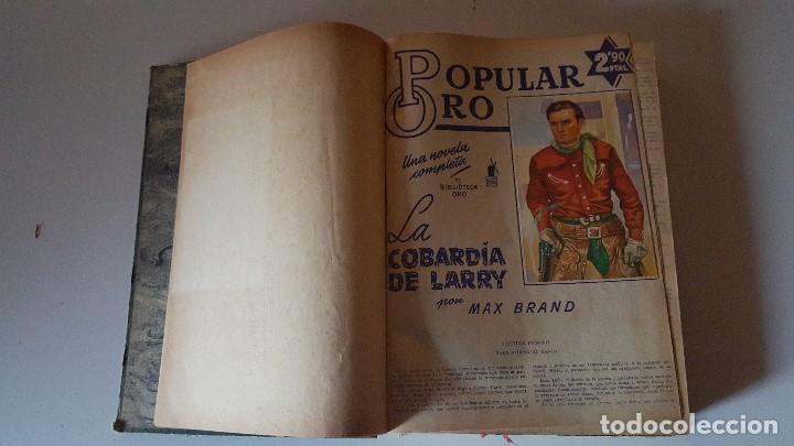 POPULAR ORO TOMO DEL 1-14 EDITORIAL MOLINO - MARZO A DICIEMBRE 1951 (Tebeos y Comics - Molino)