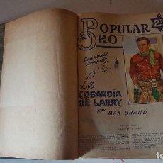 Tebeos: POPULAR ORO TOMO DEL 1-14 EDITORIAL MOLINO - MARZO A DICIEMBRE 1951. Lote 62773988