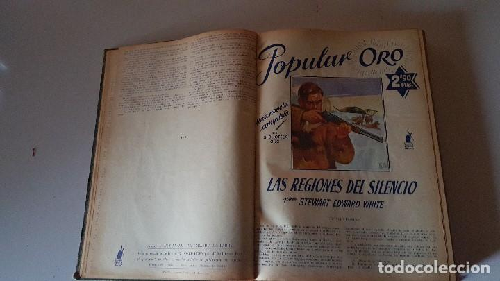 Tebeos: POPULAR ORO TOMO DEL 1-14 EDITORIAL MOLINO - MARZO A DICIEMBRE 1951 - Foto 2 - 62773988