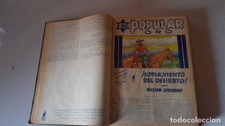 Tebeos: POPULAR ORO TOMO DEL 1-14 EDITORIAL MOLINO - MARZO A DICIEMBRE 1951 - Foto 3 - 62773988
