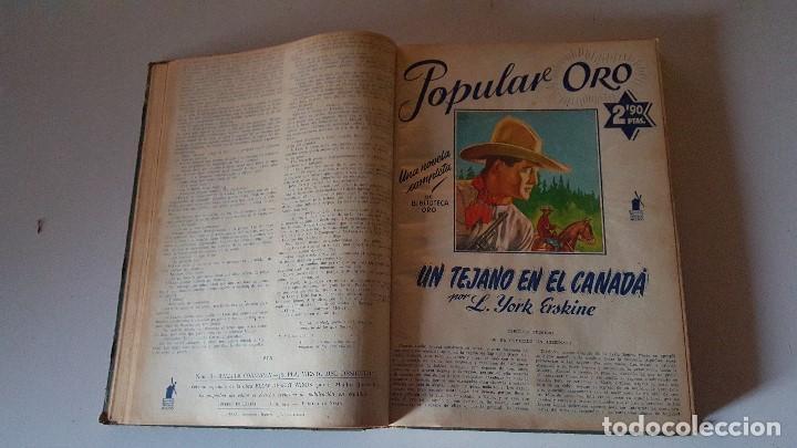 Tebeos: POPULAR ORO TOMO DEL 1-14 EDITORIAL MOLINO - MARZO A DICIEMBRE 1951 - Foto 4 - 62773988
