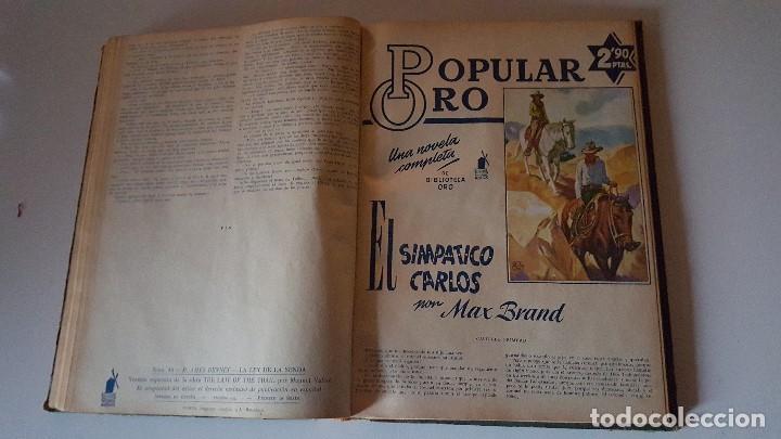Tebeos: POPULAR ORO TOMO DEL 1-14 EDITORIAL MOLINO - MARZO A DICIEMBRE 1951 - Foto 8 - 62773988