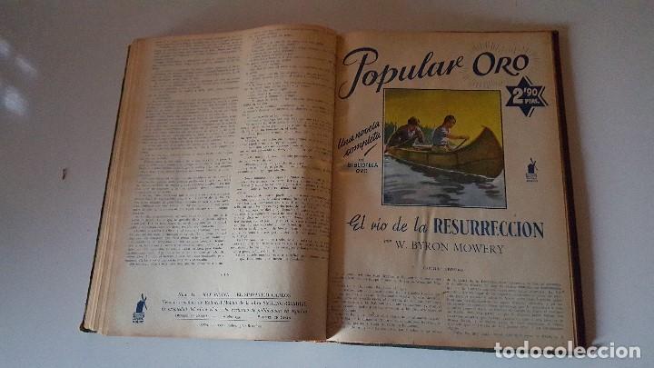 Tebeos: POPULAR ORO TOMO DEL 1-14 EDITORIAL MOLINO - MARZO A DICIEMBRE 1951 - Foto 9 - 62773988