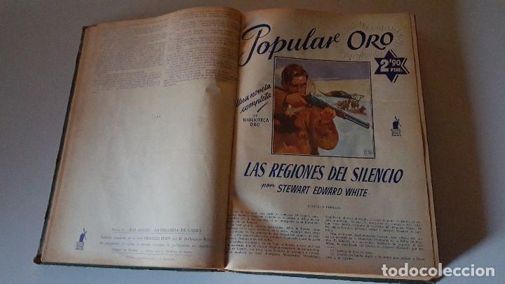 Tebeos: POPULAR ORO TOMO DEL 1-14 EDITORIAL MOLINO - MARZO A DICIEMBRE 1951 - Foto 10 - 62773988