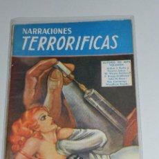 Tebeos: (M1) NARRACIONES TERRORIFICAS NUM 71 , EDT MOLINO , SEÑALES DE USO. Lote 67412409