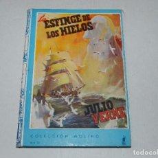Giornalini: (M) JULIO VERNE - LA ESFINGE DE LOS HIELOS , COLECCION MOLINO NUM 39 , 1940, POCAS SEÑALES DE USO. Lote 69946541