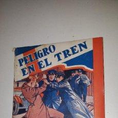 Tebeos: SERIE POPULAR MOLINO - PELIGRO EN EL TREN -Nº 14 -1º ED.1934. Lote 71630183
