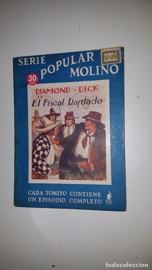 SERIE POPULAR MOLINO - DIAMOND DICK EN EL FISCAL RAPTADO -Nº 48 (Tebeos y Comics - Molino)