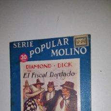 Tebeos: SERIE POPULAR MOLINO - DIAMOND DICK EN EL FISCAL RAPTADO -Nº 48 . Lote 71630235