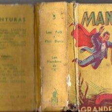 Tebeos: MANDRAKE EN LOS HOMBRES DE X - GRANDES AVENTURAS MOLINO, BUENOS AIRES, 1942. Lote 74177663