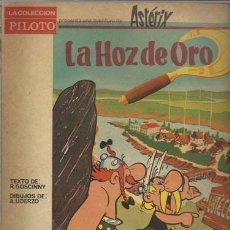 Livros de Banda Desenhada: ASTERIX: LA HOZ DE ORO, 1966, USADO. Lote 78013001