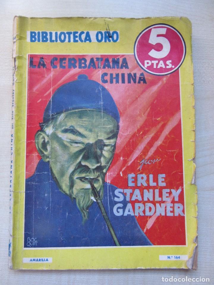 LA CERBATANA CHINA ERLE STANLEY GARDNER Y OTROS RELATOS EDI.MOLINO 1944 CON ILUSTRACIONES VER TEXTO (Tebeos y Comics - Molino)