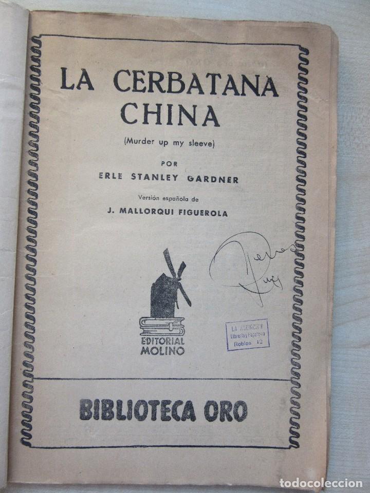 Tebeos: La cerbatana china Erle Stanley Gardner y otros relatos Edi.Molino 1944 Con ilustraciones Ver texto - Foto 2 - 80483933