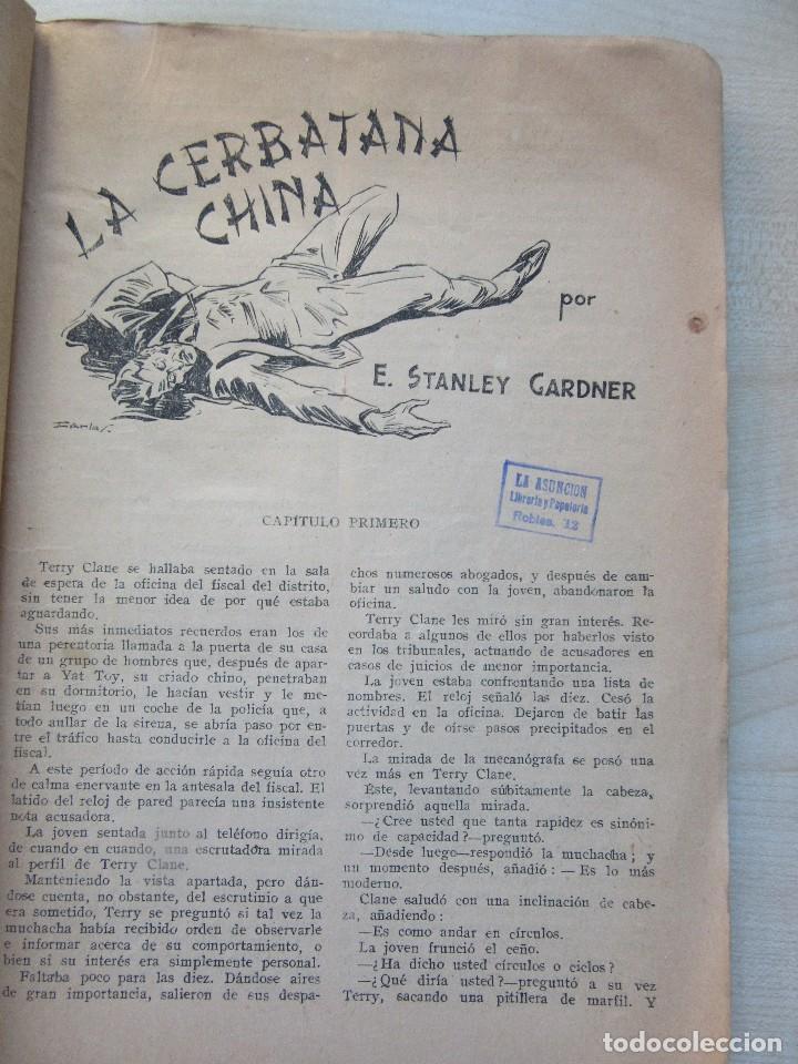 Tebeos: La cerbatana china Erle Stanley Gardner y otros relatos Edi.Molino 1944 Con ilustraciones Ver texto - Foto 3 - 80483933