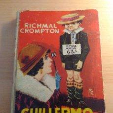 Tebeos: RICHMAL CROMPTON - GUILLERMO EN DIAS FELICES - EDITORIAL MOLINO. Lote 82011708