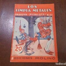 Tebeos: LOS LIMPIA METALES. COLECCIÓN MARUJITA Nº64. Lote 84161974