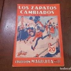 Tebeos: LOS ZAPATOS CAMBIADOS. COLECCIÓN MARUJITA Nº105. Lote 84162312