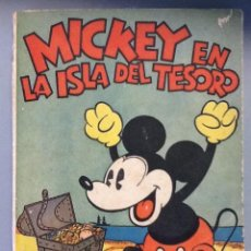Tebeos: MICKEY EN LA ISLA DEL TESORO. Lote 91988900