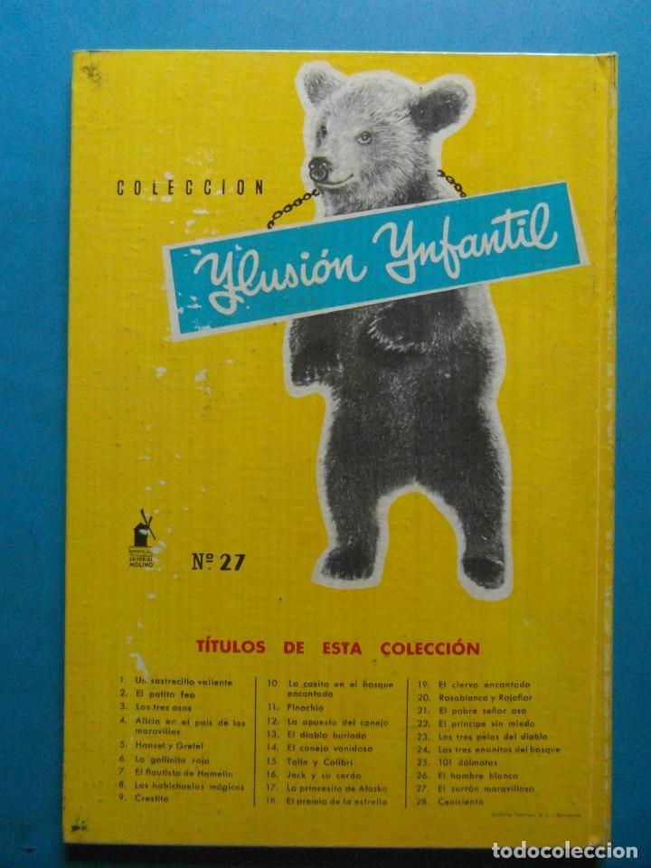 Tebeos: El zurron maravilloso nº 27. Soler Pedret. Coleccion infantil. Editorial Molino 1962 - Foto 3 - 94943883