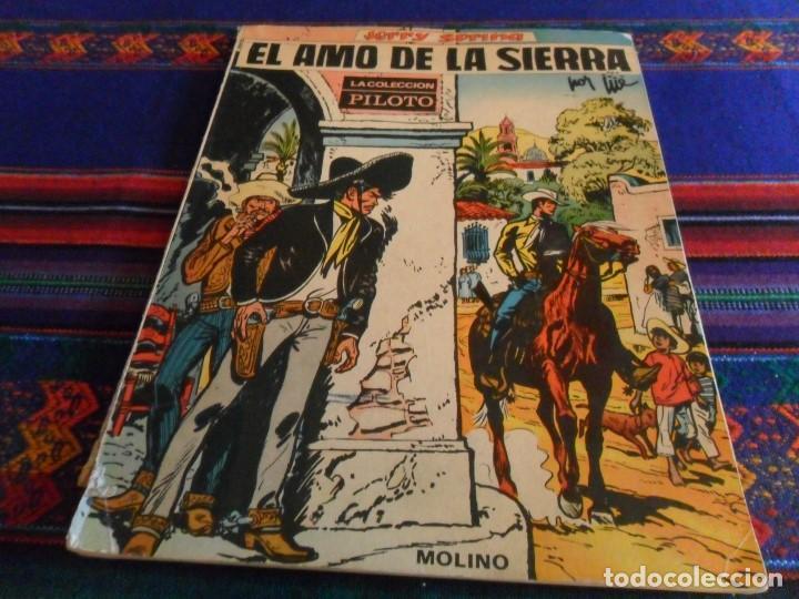 PILOTO MOLINO JERRY SPRING Nº 3 EL AMO DE LA SIERRA DE JIJÉ. 1966. RÚSTICA. DIFÍCIL. (Tebeos y Comics - Molino)