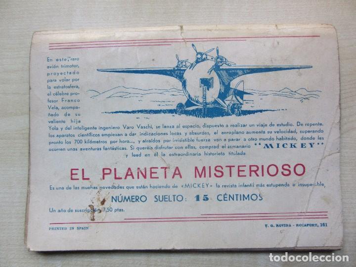 Tebeos: Nick Carter en El pirata misterioso 1940 Serie Popular Molino - Foto 4 - 98214071