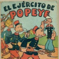 Tebeos: EL EJERCITO DE POPEYE EDITORIAL MOLINO AÑO 1941. Lote 99737243