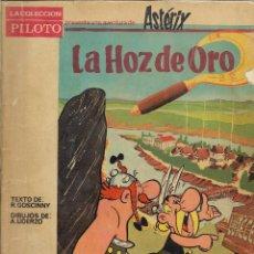 Tebeos: LA HOZ DE ORO. ASTÉRIX 1A EDICIÓN 1966. EDITORIAL MOLINO. Lote 99988579