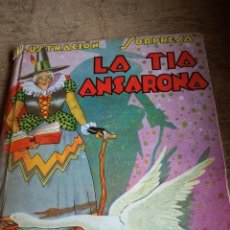 Tebeos: LA TIA ANSORENA,ED.MOLINO.. Lote 100624199