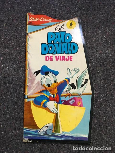 EL PATO DONALD DE VIAJE - CUENTO TROQUELADO GIGANTE - 1966 D50 (Tebeos y Comics - Molino)