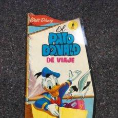 Tebeos: EL PATO DONALD DE VIAJE - CUENTO TROQUELADO GIGANTE - 1966 D50. Lote 101208515