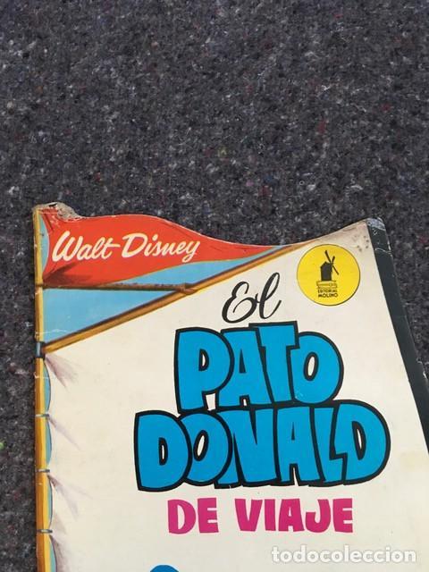 Tebeos: El Pato Donald de viaje - Cuento troquelado gigante - 1966 D50 - Foto 7 - 101208515